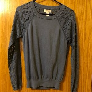 Forever 21 top with lace back and arms - Small